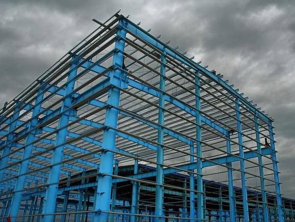 多层钢结构建筑施工