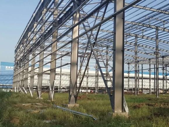 怡能智造集团新建钢结构厂房